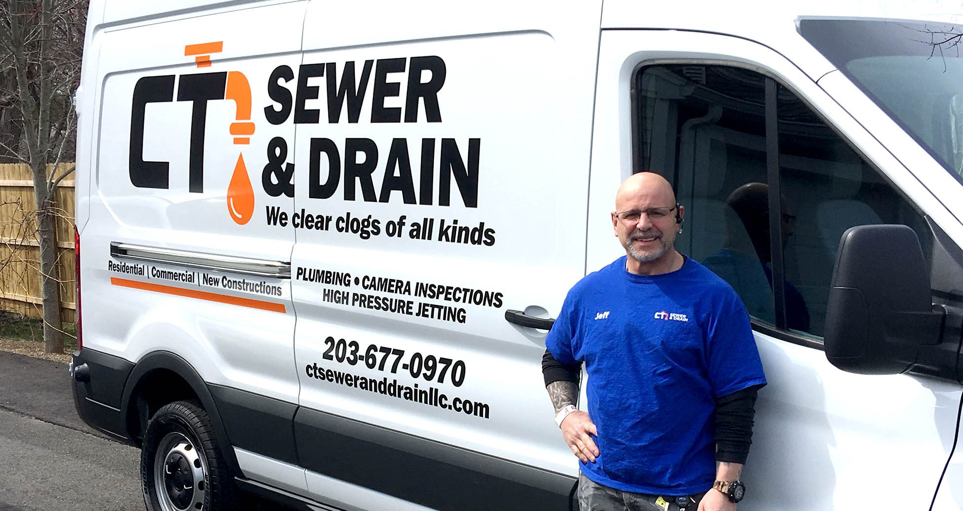 We Clear All Kinds of Clogged Drains